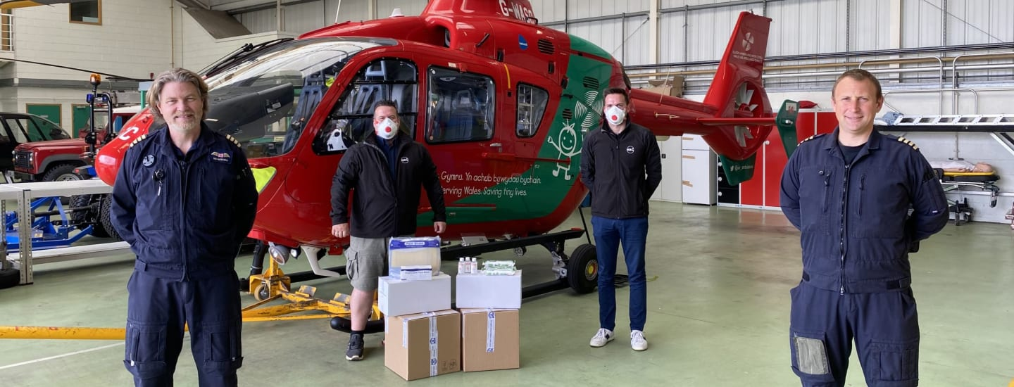 Company Donates PPE to Help Charity's Fight Against Covid-19