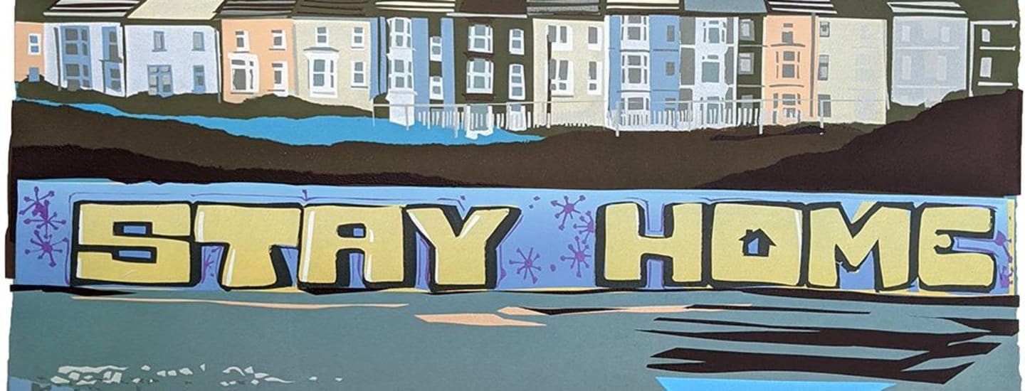 Stay at Home Artwork to be sold to support Wales Air Ambulance Charity