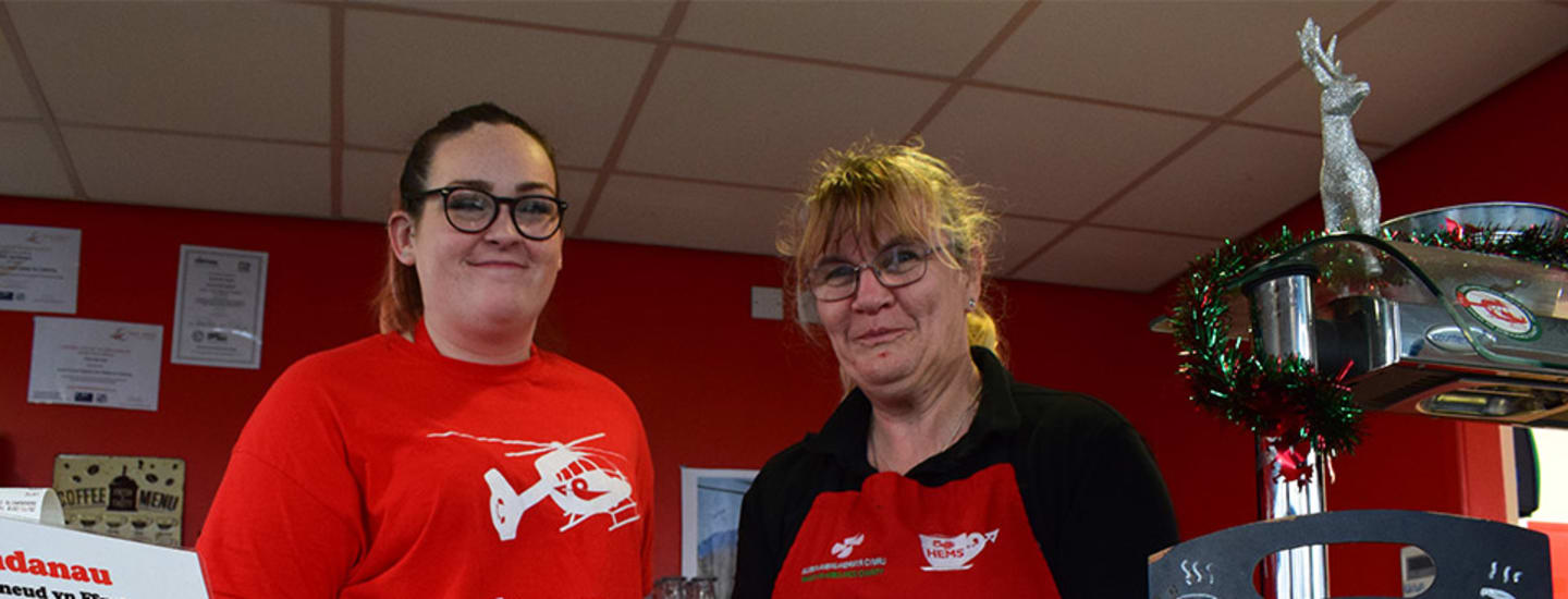 CHARITY CAFE WINS NORTH WALES ENTERPRISE AWARD