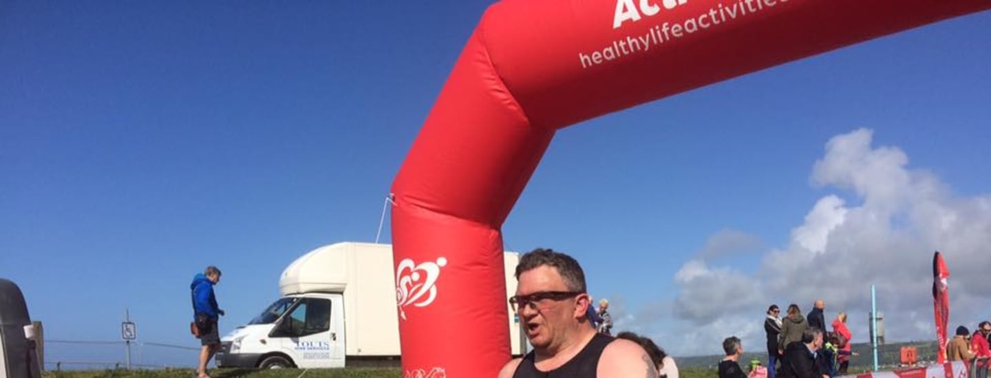 CAERNARFON MAN RUNS SIX TRIATHLONS AND AN IRONMAN TO HELP SAVE LIVES ACROSS WALES