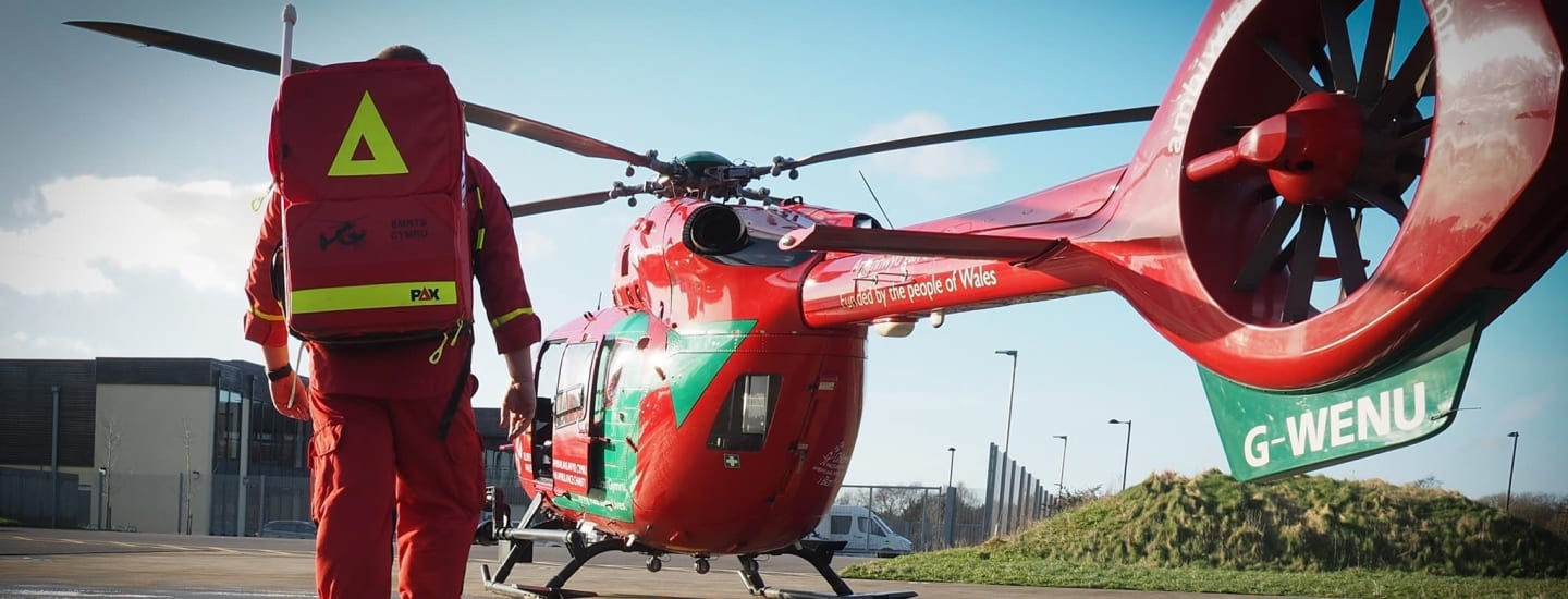 Local Domino's Pizza Joins Wales Air Ambulance Anniversary Fundraiser