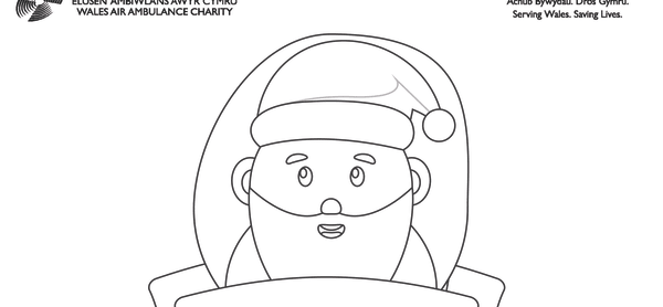Father Christmas Colouring