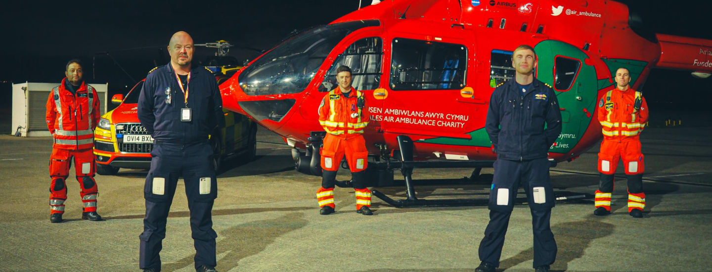 A 24/7 Air Ambulance Service for Wales