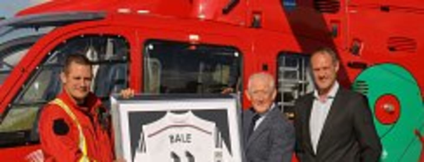 SIGNED GARETH BALE SHIRT DONATED TO WAA TO RAISE FUNDS