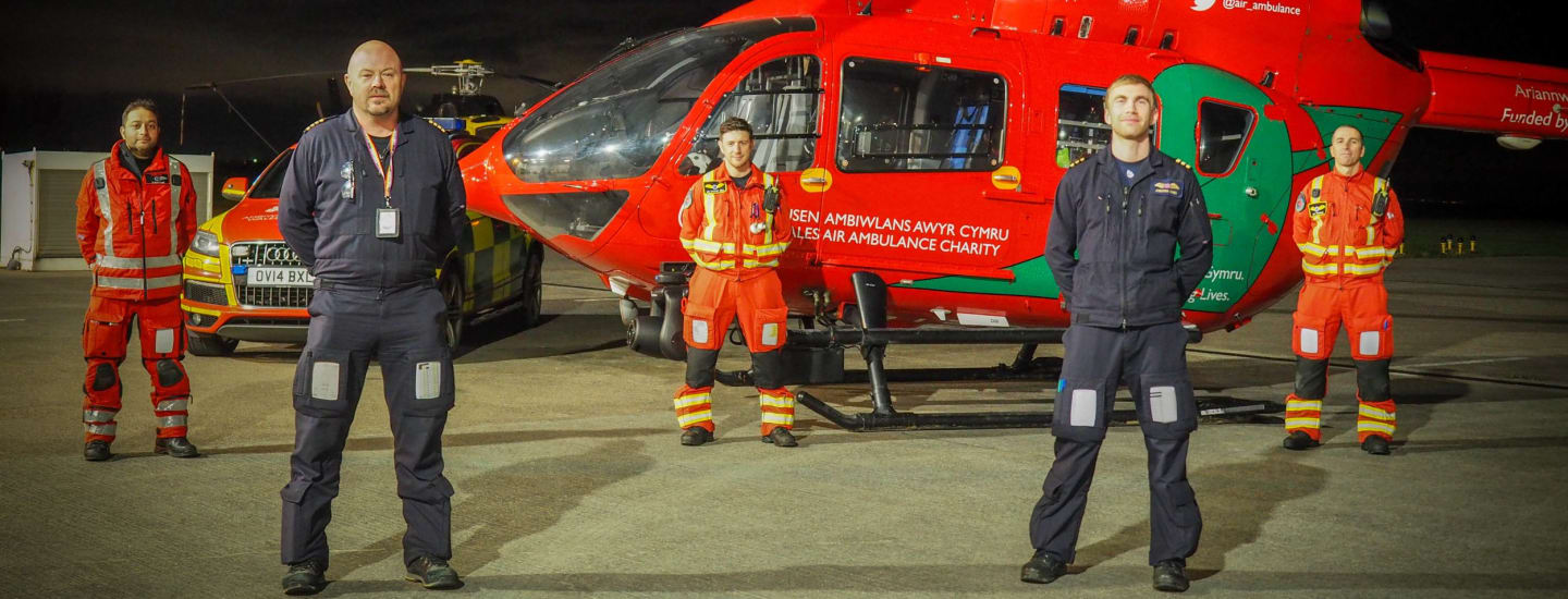 A 24/7 Air Ambulance for Wales