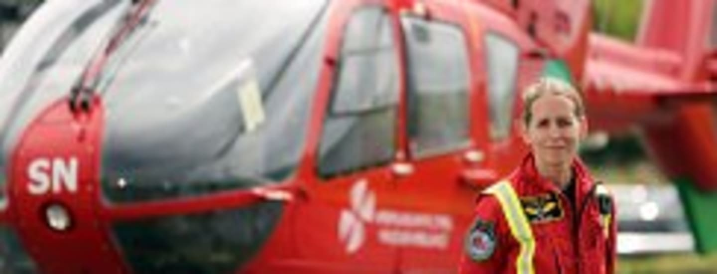 WALES AIR AMBULANCE FLYING DOCTOR AWARDED AN MBE