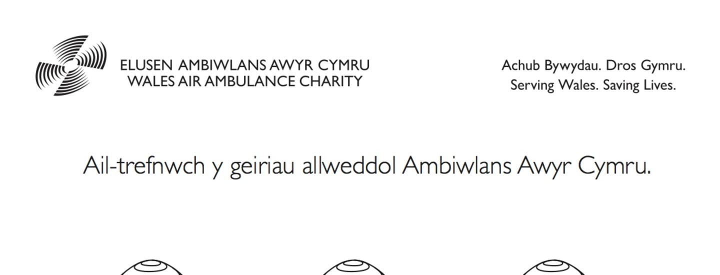 Easter Anagram - Welsh