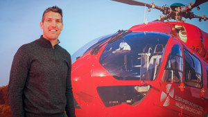 Wales Great James Hook Becomes Ambassador for Lifesaving Charity