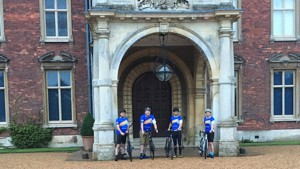 Cycling Fab Four Raise over £5,000 for Three Charities