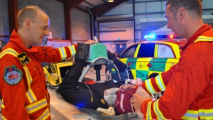 NEW MEDICS JOIN WALES AIR AMBULANCE'S CAERNARFON CREW